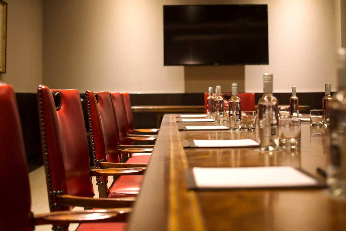 The Singular Santiago Meeting Room Detail