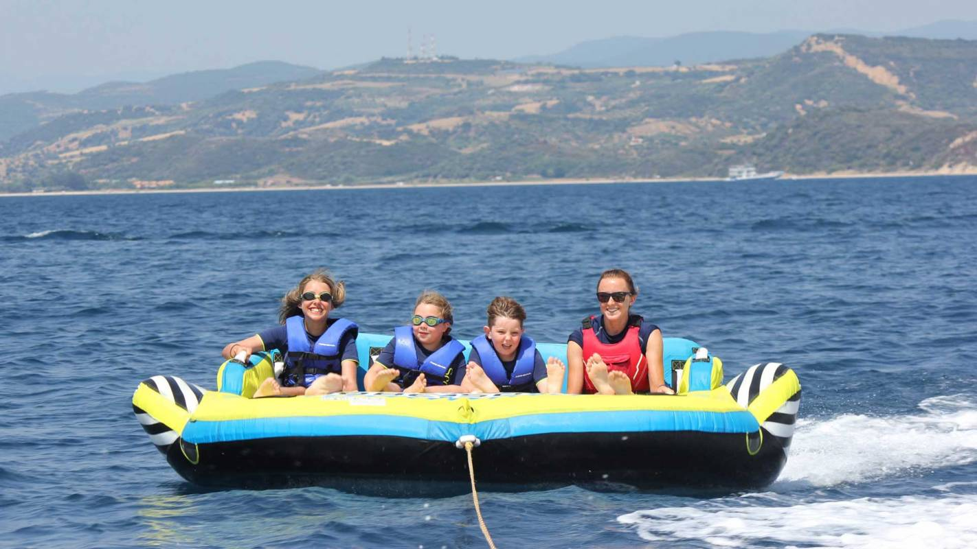 Eagles Palace Calkidiki Kids Club Boat