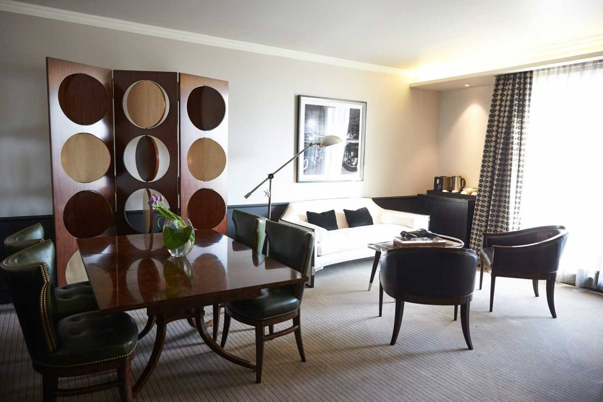 The Singular Santiago Suite Living Area