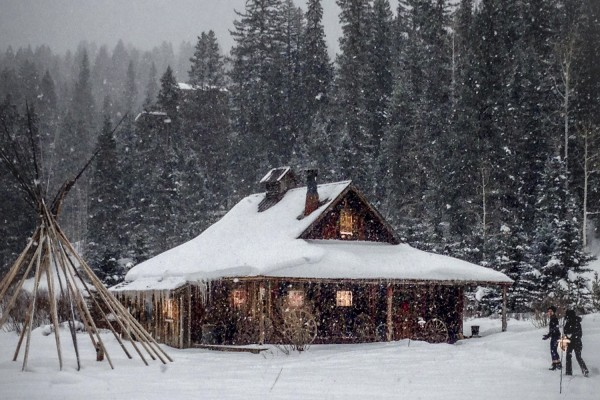 Dunton Hot Springs: Winter-Romantik in Colorados Bergen